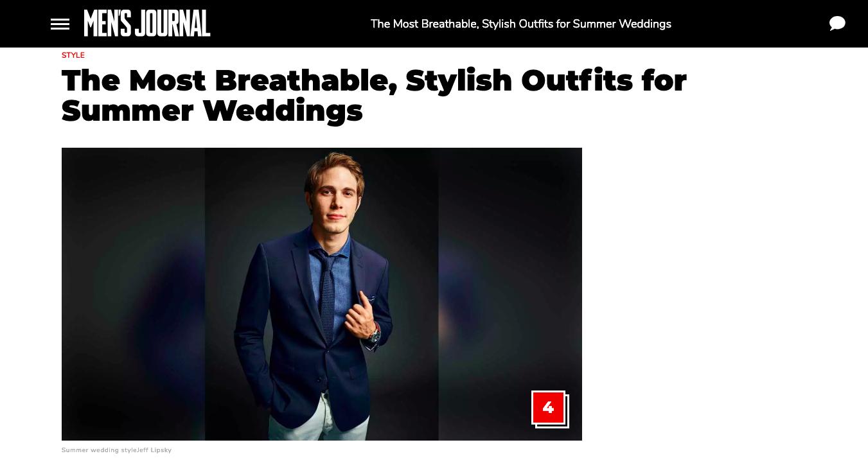 Men's Journal - Wedding Outfits