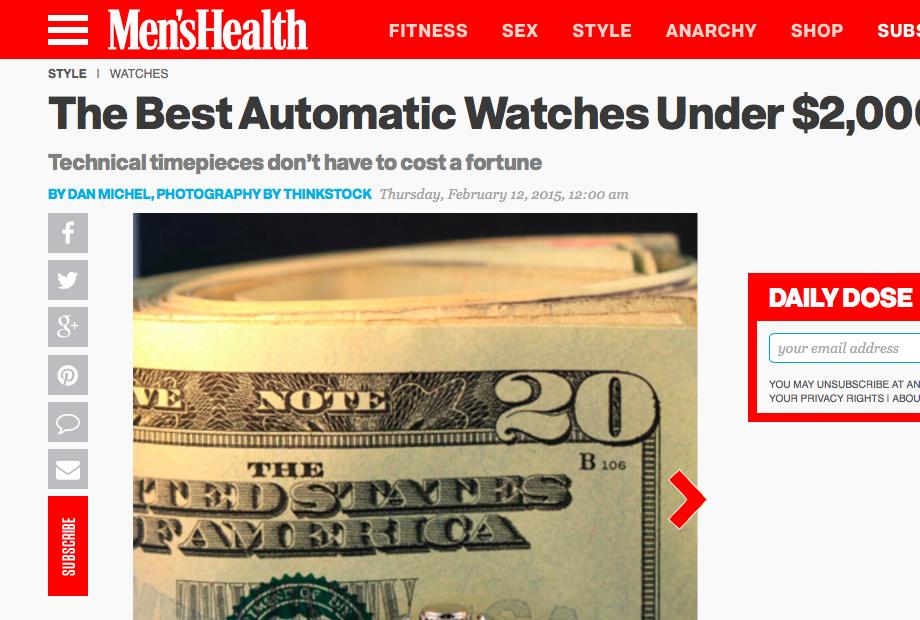 Best Automatic Watches Under $2,000