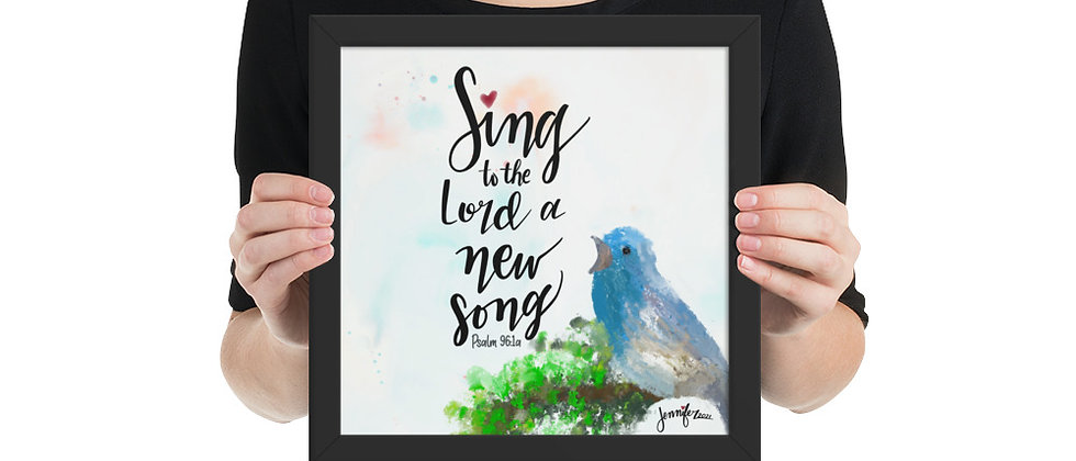 """Sing to the Lord"""