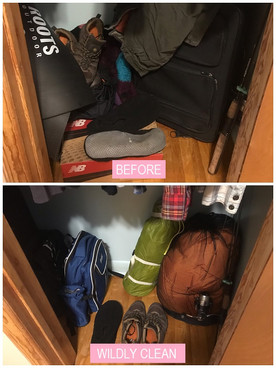 Wildly Clean Closet Makeover (3/3)