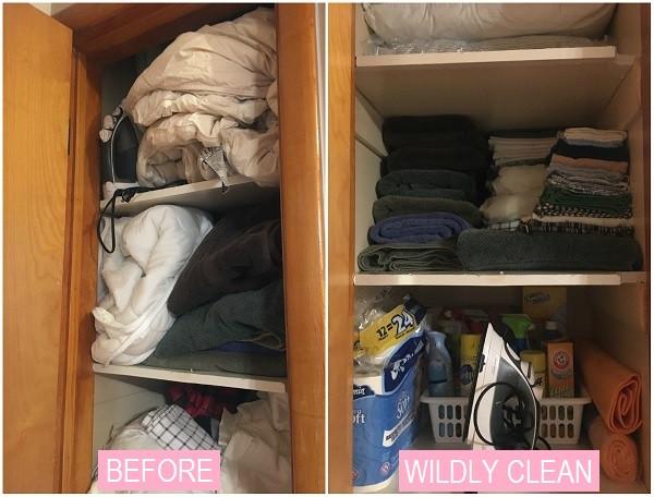 Wildly Clean Closet Healing
