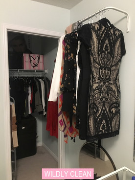 Wildly Clean Closet Makeover