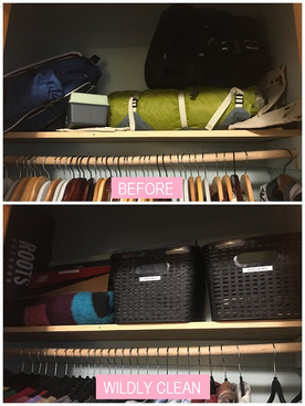 Wildly Clean Closet Makeover (1/3)