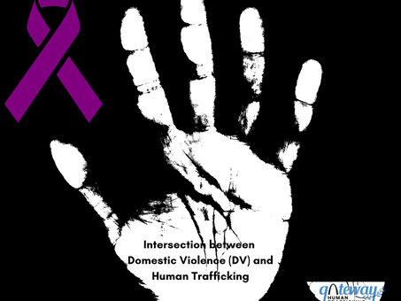 Intersection between Domestic Violence (DV) and Human Trafficking