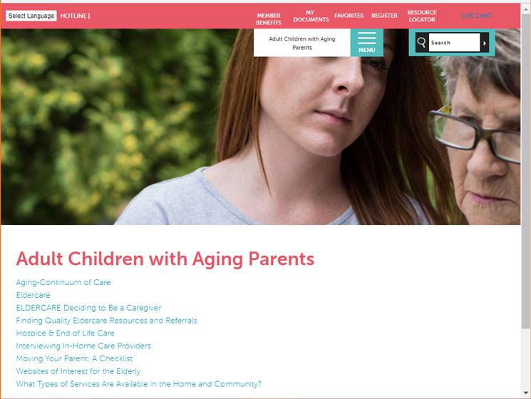 A Typical EAP Website