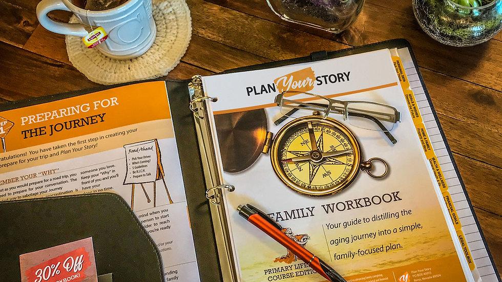 Plan Your Story Membership & Workbook