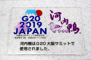 G20大阪サミットで使用