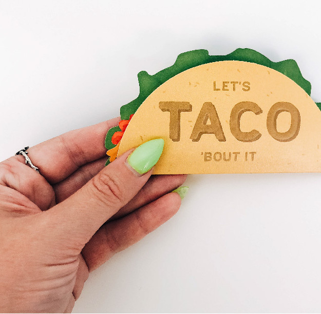 Taco Greeting Card