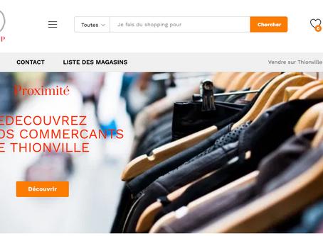 Place de marché collaborative - Thionville Shop