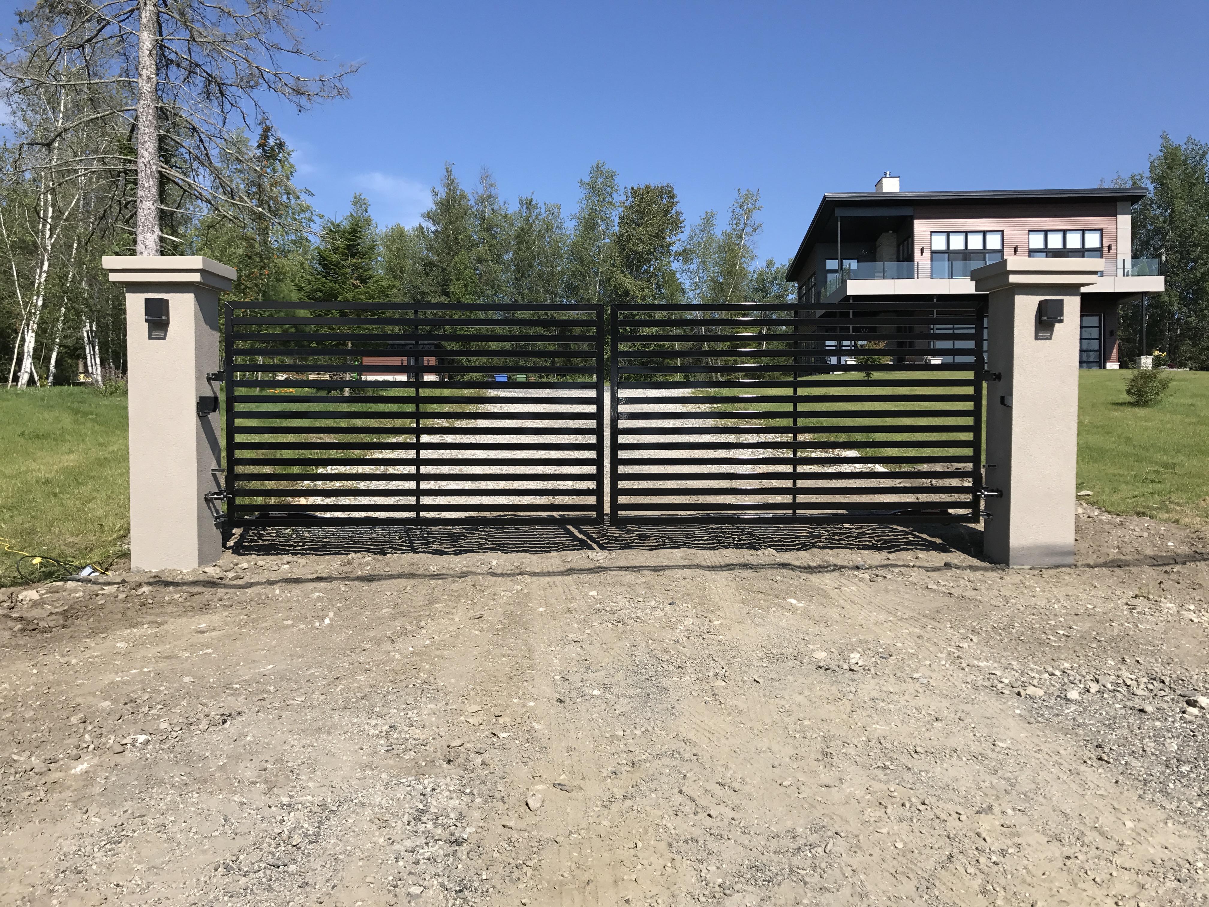 #7 | Barrière d'entrée en aluminium