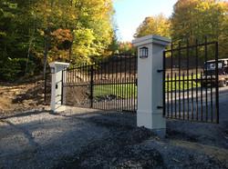 #33 | Aluminum gates