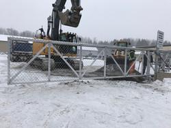 #81 | Commercial sliding gate