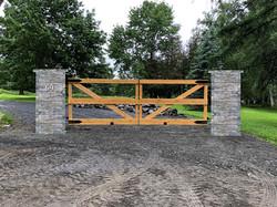 #55 | wooden gate