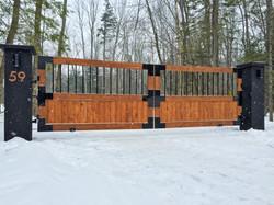 #50 | Wooden gate