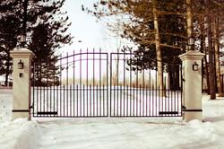 #30 | Barrière en hiver