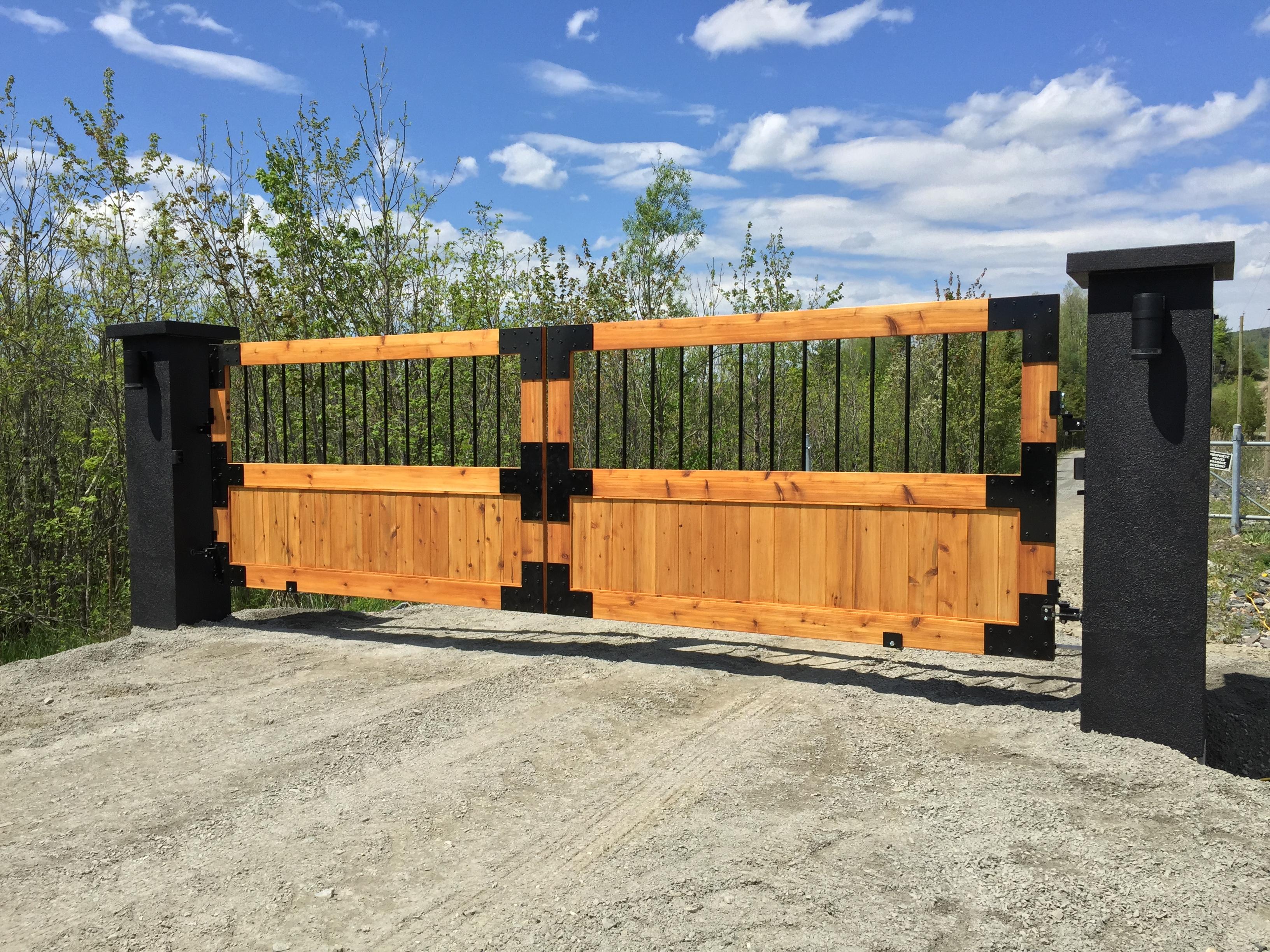 #43 | Barrière en bois de cèdre