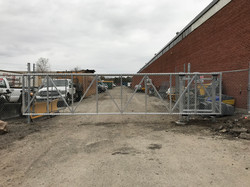 #82 | Commercial sliding gate frost