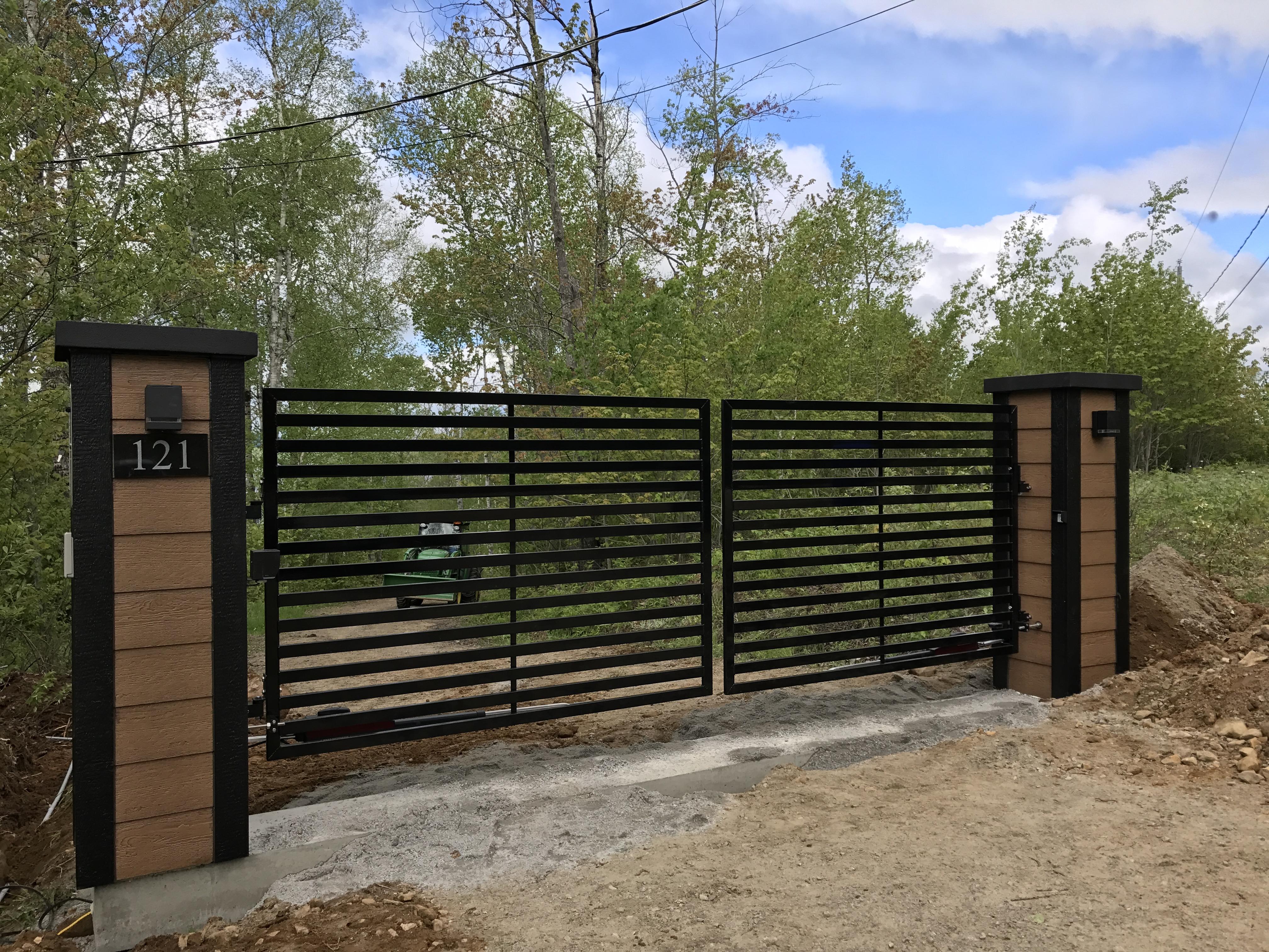 #6 | Modern gate