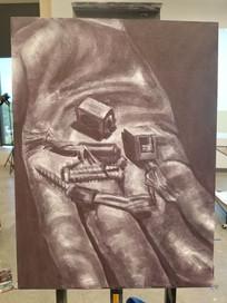 Glove - Acrylic