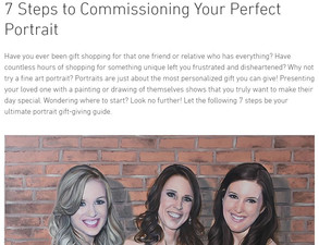 7 Steps to Commissioning Your Perfect Portrait