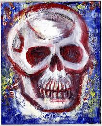 Skull 04 - Red