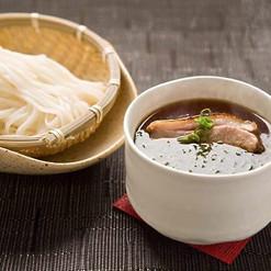 Foie Gras Egg Custard with Udon