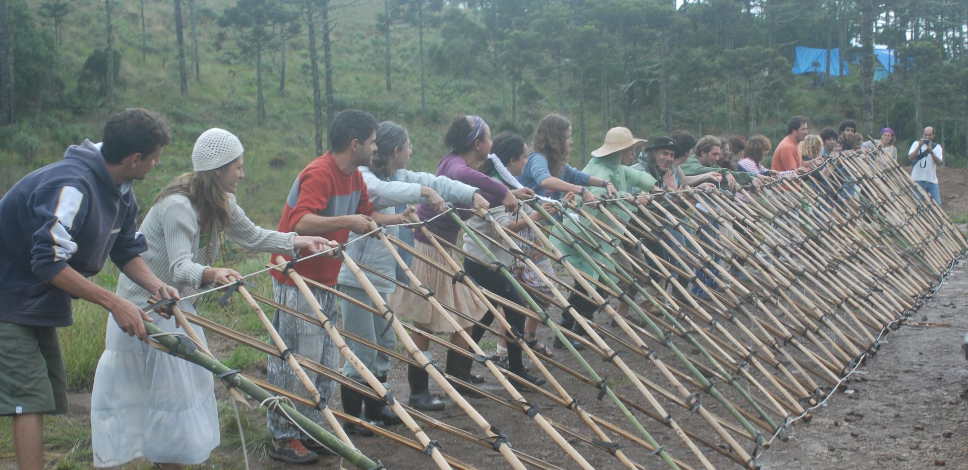 fazendo-yurt