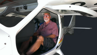 Grahame Smith gains his Recreational Pilot Certificate