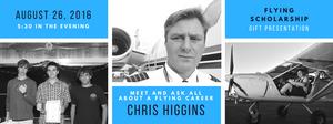 Chris Higgins, Aviation Career Talk at HDFC 26th Aug 2016