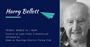 Harry Bellot passed away on March 12th 2018