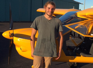 Jarrod Cloughessy's First Solo