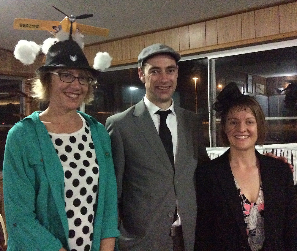 HDFC race night 2014 best hat, best dressed | Hastings District Flying Club, Port Macquarie Recreational Aviation | HDFC Port Macquarie