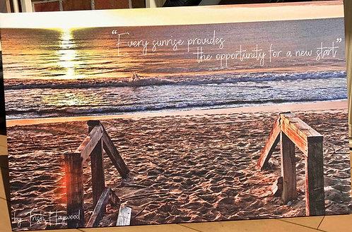 NEW START: Narrabeen Beach