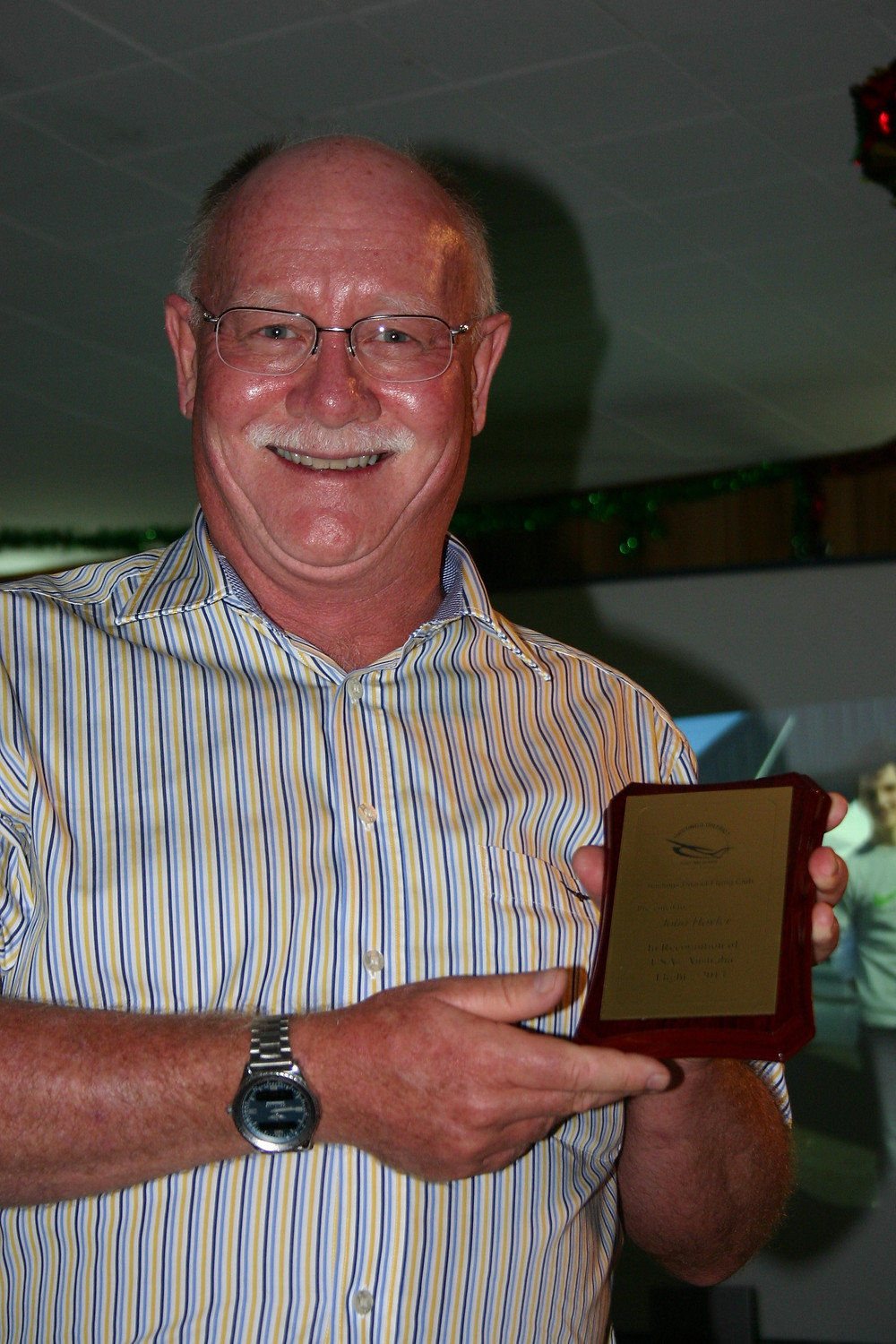 John Hayler Pilot of the Year 2013 | Hastings District Flying Club, Port Macquarie Recreational Aviation | HDFC Port Macquarie