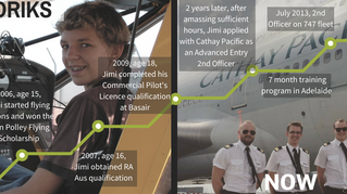 Jimi Jay Ludriks - From braces to stripes - What it takes to be a Pilot