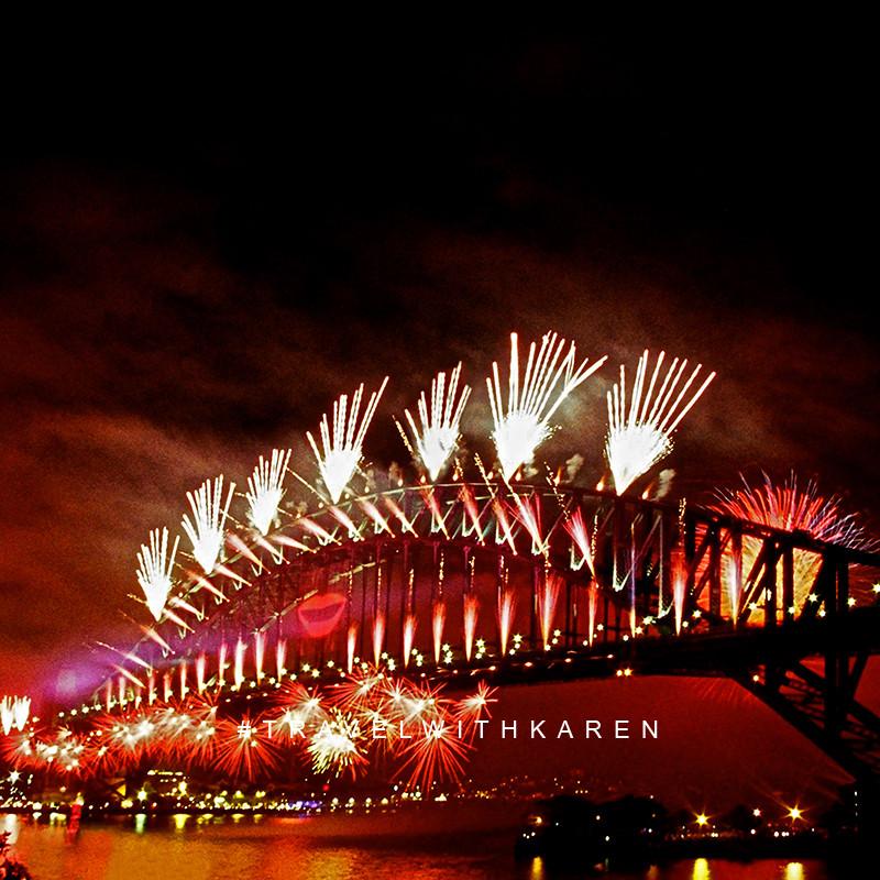 Sydney NYE 2014 photo for sale   OZ Land Photos   Karen Williamson