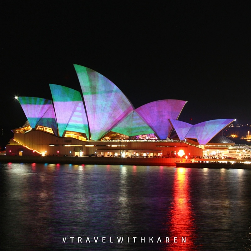 Lighting the Sail - Vivid Sydney