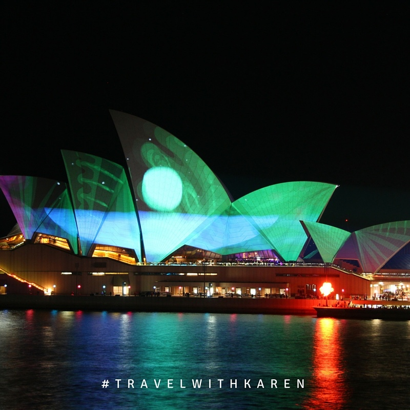 Vivid Sydney in Envious Green