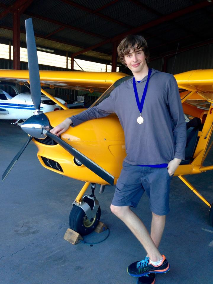 Caleb Butterfield first solo | Hastings District Flying Club, Port Macquarie Recreational Aviation | HDFC Port Macquarie