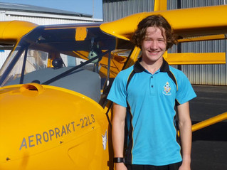 Patrick Barltrop's First Solo