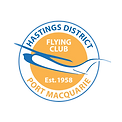 Hastings District Flying club HDFC logo