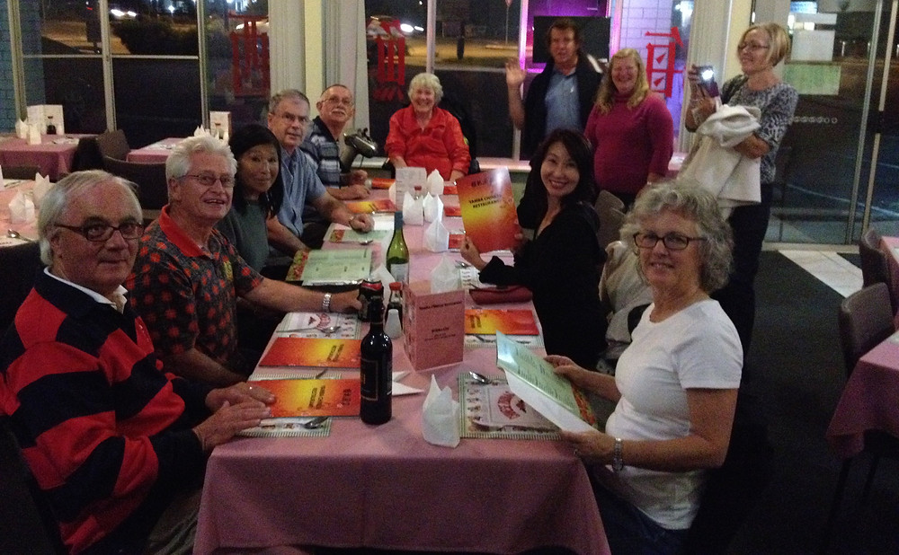 Chinese dinner at Palmers Island | Hastings District Flying Club, Port Macquarie Recreational Aviation | HDFC Port Macquarie