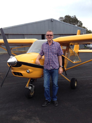 Dr Tim Amor - First Solo