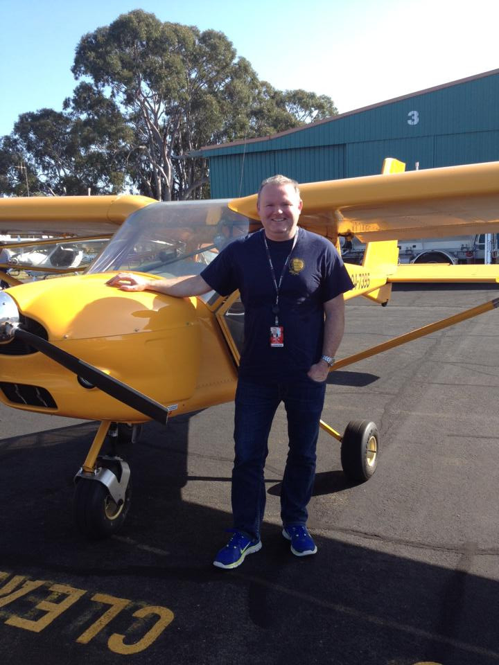 Paul Hayler first solo | Hastings District Flying Club, Port Macquarie Recreational Aviation | HDFC Port Macquarie