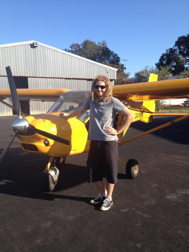 Chris Watt first solo | Hastings District Flying Club, Port Macquarie Recreational Aviation | HDFC Port Macquarie