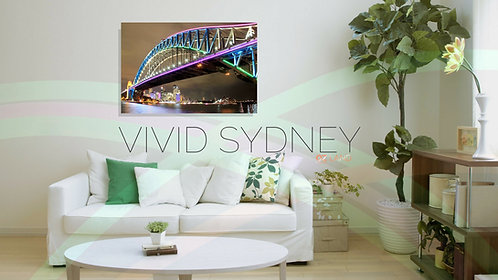 Sydney Harbour Bridge on Acrylic