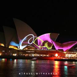 Swirling Lights Vivid Sydney