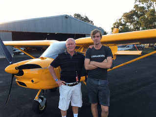Drouin Pike's First Solo