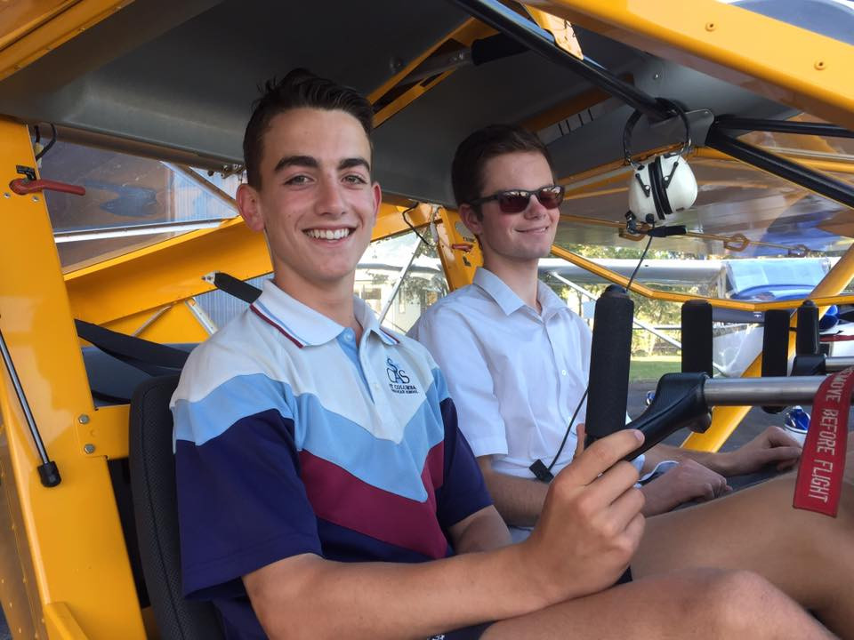 Introducing the 2018 HDFC Flying Scholarship recipients. Congratulations to Maxwell Mangan (left) and Nicholas Tessede.