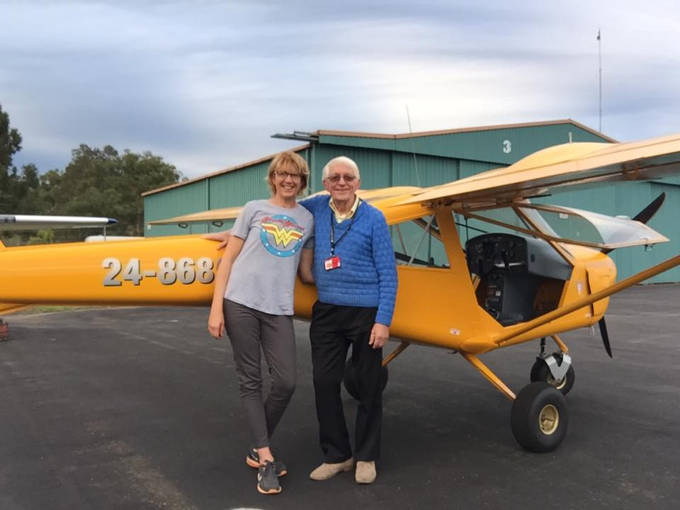 Lachlan Davidson First Solo on 18th April 2016